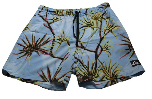 Boardshort quiksilver salty palms volley 18