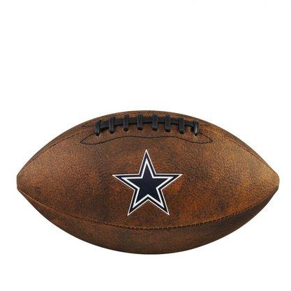 Bola Futebol Americano Wilson NFL JR Trowback Team Dallas Cowboys