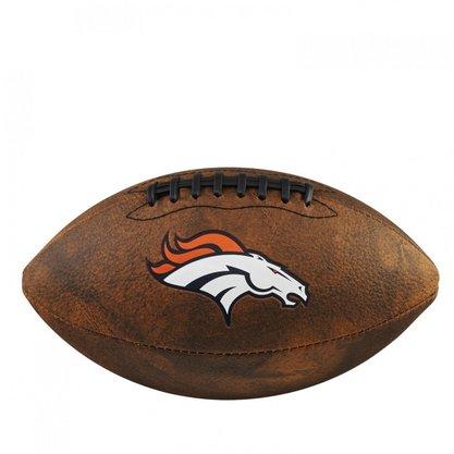 Bola de Futebol Americano Wilson NFL JR Trowback Team Denver Broncos