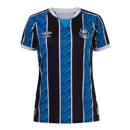 Camisa Grêmio Feminina Oficial 1 2020