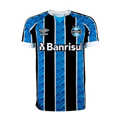 Camisa Grêmio Torcedor 2020 com número