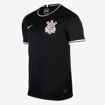 Camisa nike corinthians ii 2019/20  pt