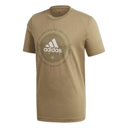 Camiseta adidas Estampada Athletics