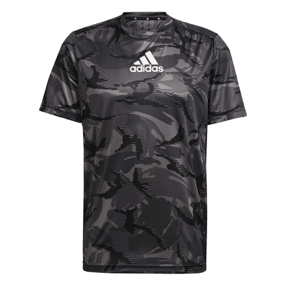 Camiseta adidas Estampa Camuflagem Designed to Move Aeroready