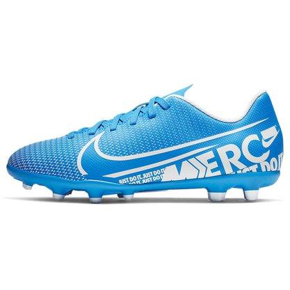 Chuteira Mercurial JR Vapor 13 Club Azul Nike