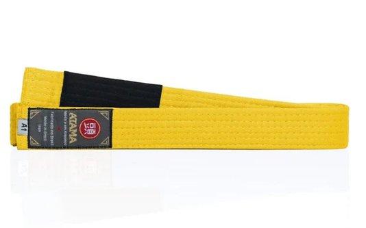 Faixa Tradicional Atama Amarela - Jiu Jitsu