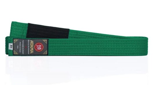Faixa Tradicional Atama Verde - Jiu Jitsu