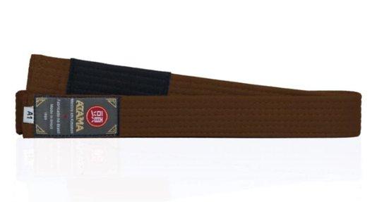 Faixa Tradicional Atama Marrom - Jiu Jitsu