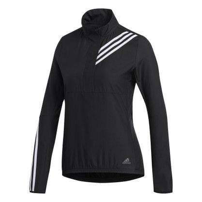 Jaqueta adidas Anoraque Corta-Vento Run It 3-Stripes