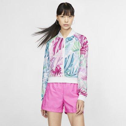 Jaqueta nike sportswear hyperflora feminina