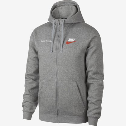 "Jaqueta Nike Sportswear ""just do it"" Fleece"