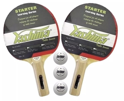 Kit Tênis de Mesa 2 Raquetes 3 Bolinhas e Redes