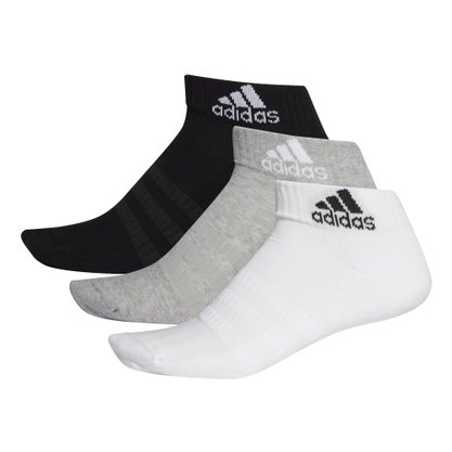 Meias adidas Cushioned Ankle 3 pares