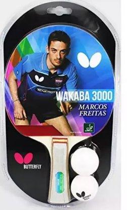 Raquete De Tênis De Mesa Butterfly Wakaba 3000