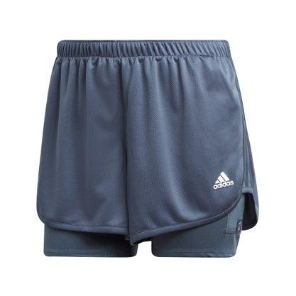 Shorts adidas Dois Em Um Marathon 20