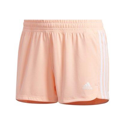 Shorts adidas Malha Pacer 3-Stripes