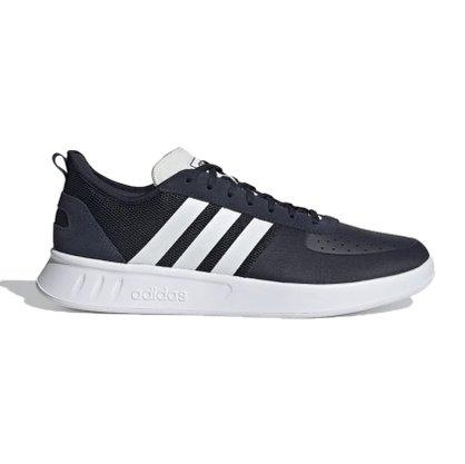 Tenis adidas court 80s m azul